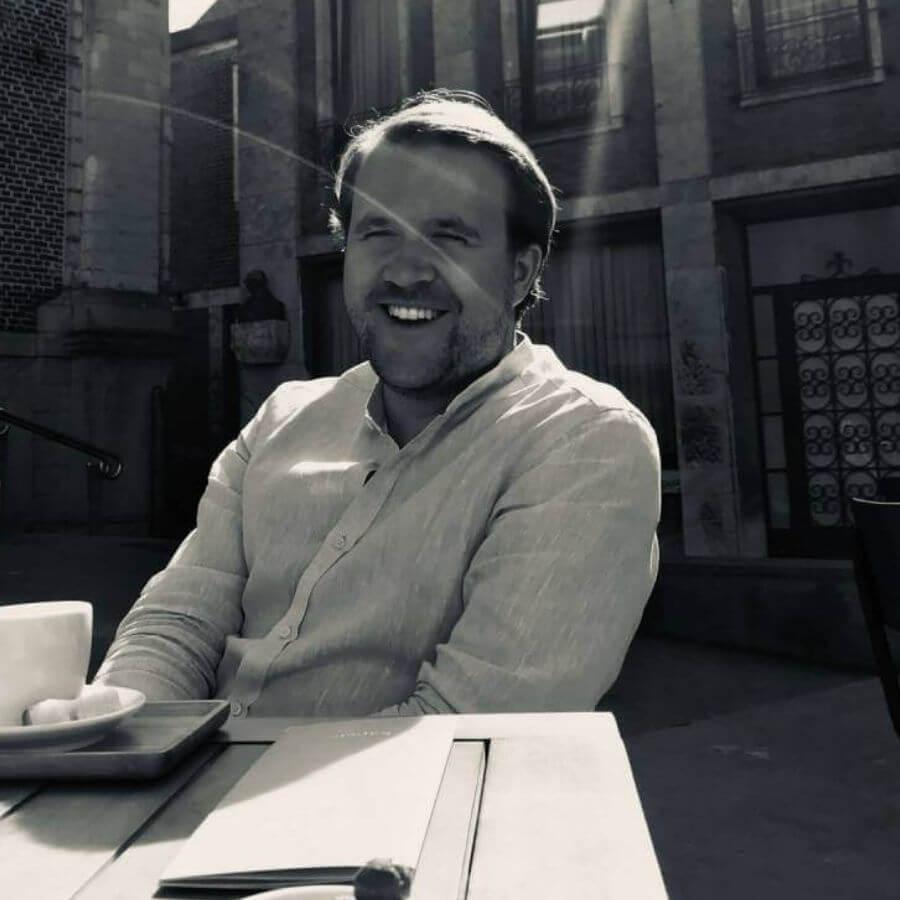 Arnaud Blij, oprichter van COBLY